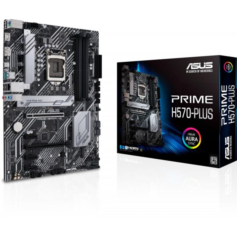 ASUS PRIME H570-PLUS, DDR4, SATA3, USB3.2Gen2, DP, 2.5Gb LAN, LGA1200 ATX