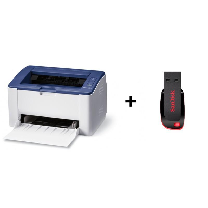 Xerox Phaser 3020i A4 laserski tiskalnik USB, Wifi + 32GB USB