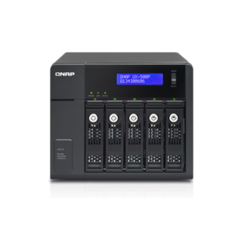 QNAP UX-500P razširitvena enota za NAS strežnike