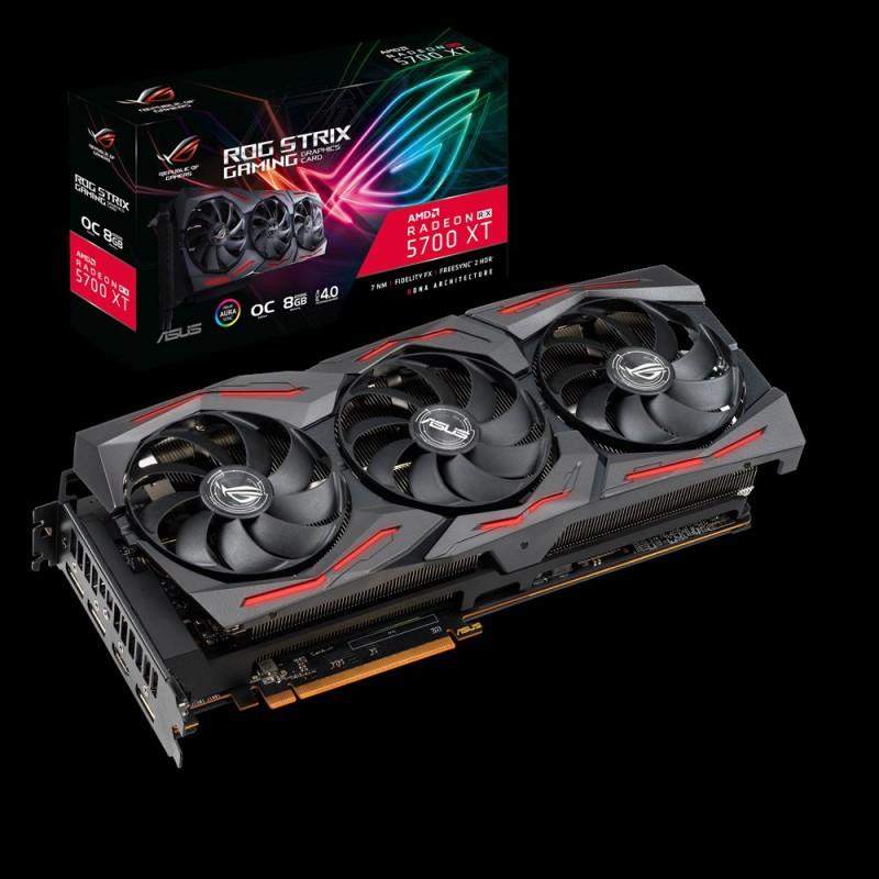Grafična kartica ASUS ROG Radeon RX 5700 XT STRIX OC, 8GB GDDR6, PCI-E 3.0