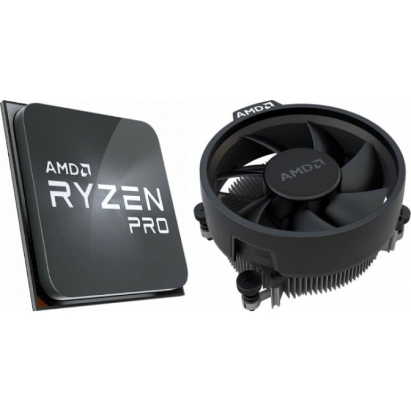 AMD Ryzen 7 PRO 4750G procesor s priloženim Wraith Stealth hladilnikom - MPK