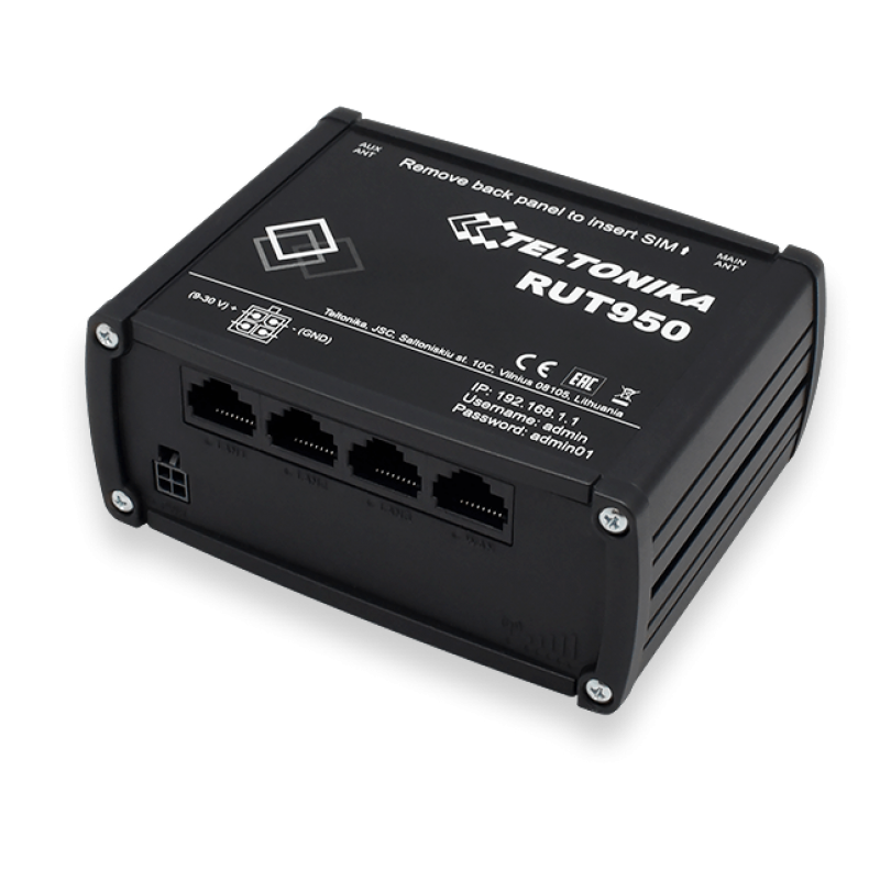 Teltonika dual sim 4G usmerjevalnik RUT950