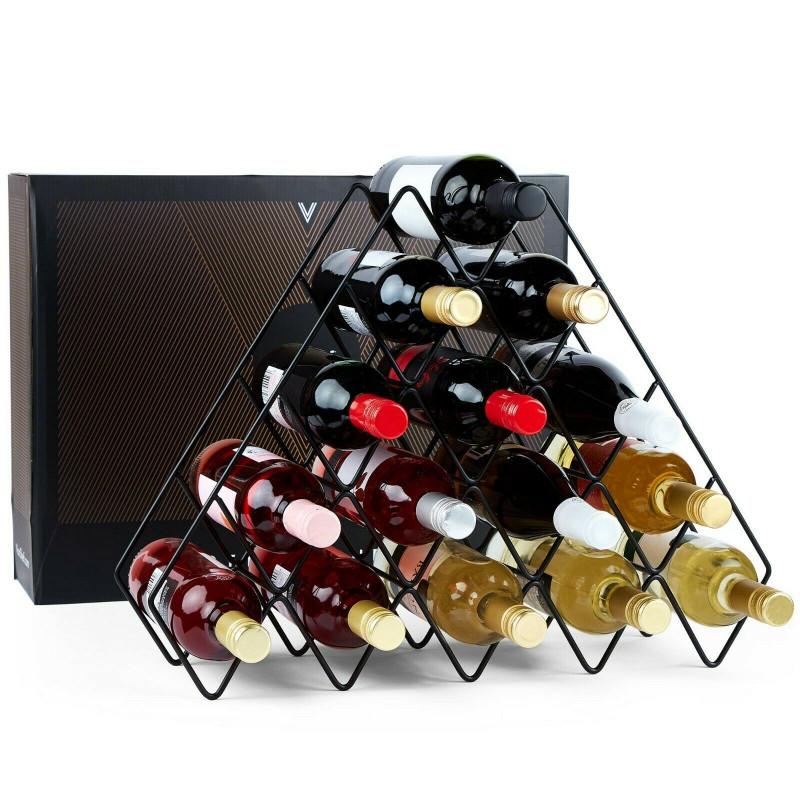 VonShef stojalo za vino 15 steklenic