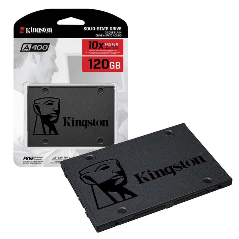Kingston SSD disk 120GB SATA3 A400