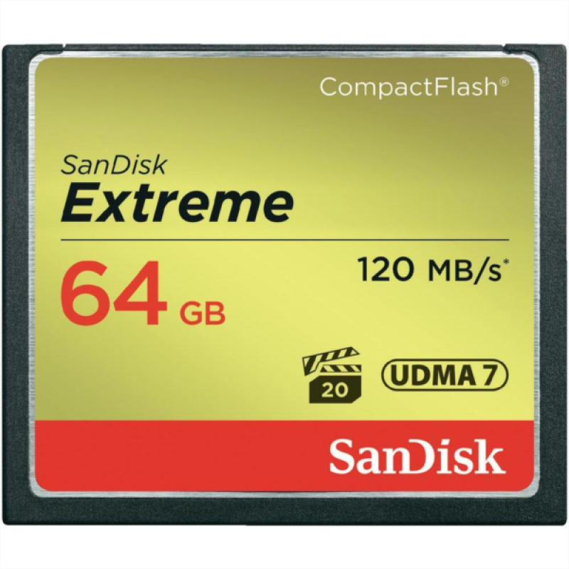 SanDisk 64GB Compact Flash Extreme UDMA7