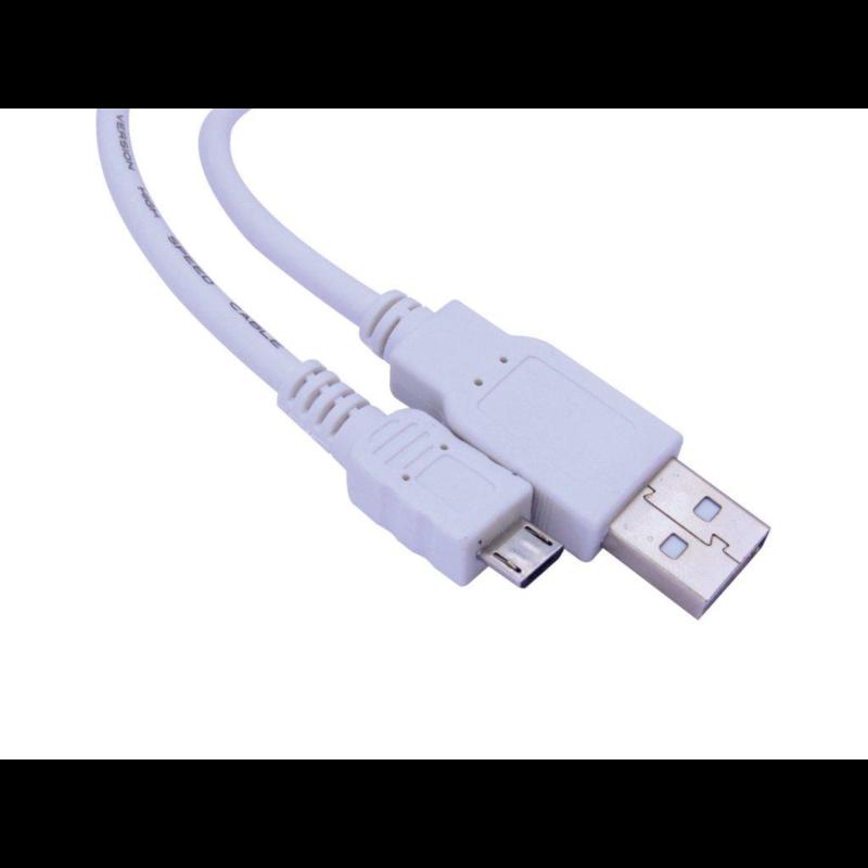 Sandberg microUSB - USB kabel, 2m, SAVER