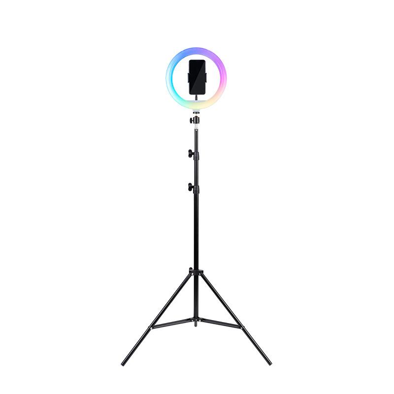 HAVIT RGB LED svetlobni obroč s tripod stojalom