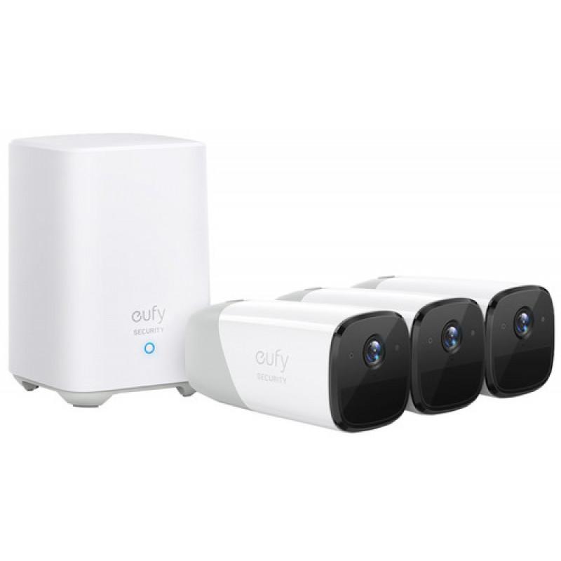 Eufy by Anker Eufy Cam 2 PRO Kit komplet 3 nadzornih kamer in bazne postaje