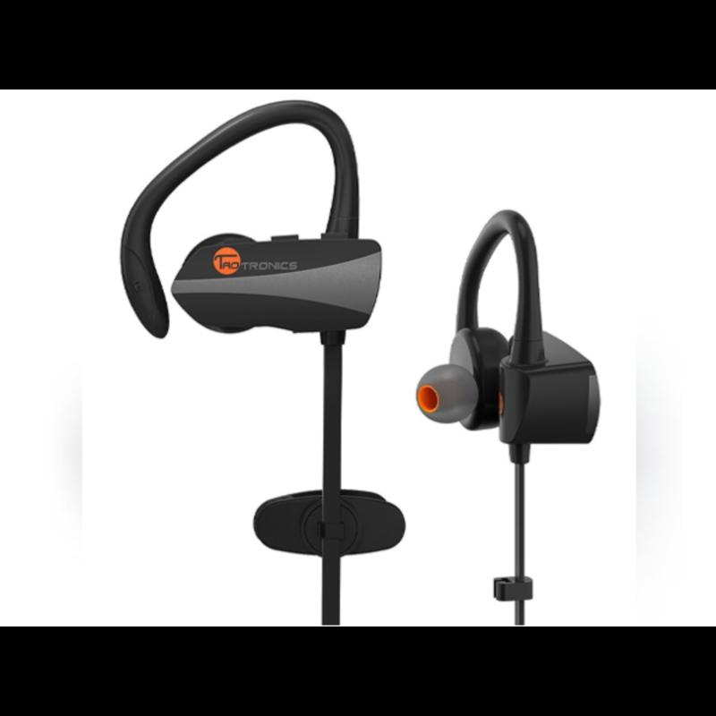 TaoTronics Prenosne BLT športne slušalke črne TT-BH10