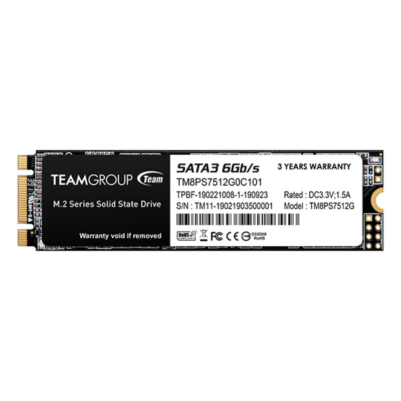 Teamgroup 512GB SSD MS30 M.2 2280 SATA3