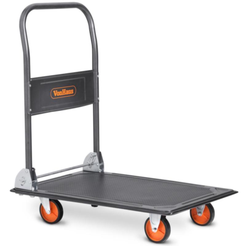 VonHaus platformni transportni voziček (150kg)