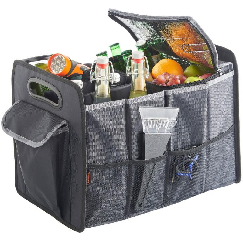 VonHaus prtljažni organizator za avto s hladilno torbo