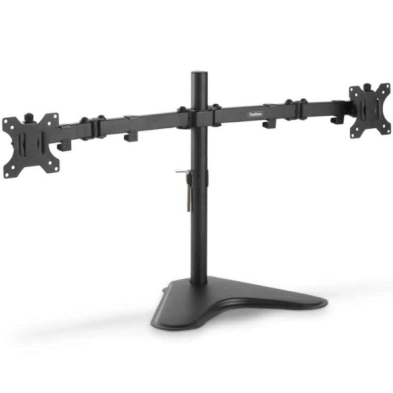 VonHaus dvojni namizni nosilec za dva monitorja do diagonale 32''