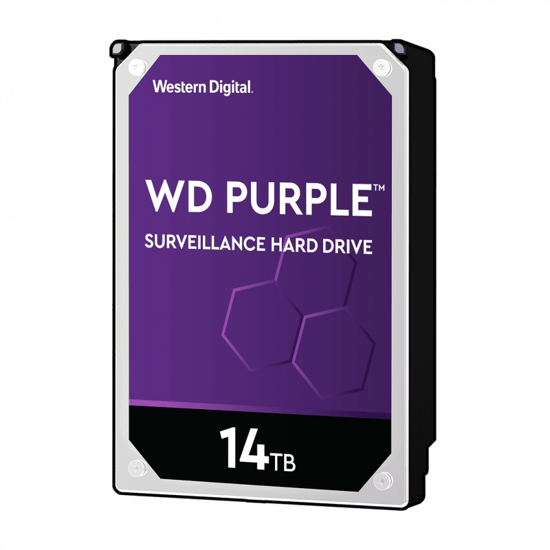 WD PURPLE 14TB SATA3, 6Gb/s, 7200, 512MB