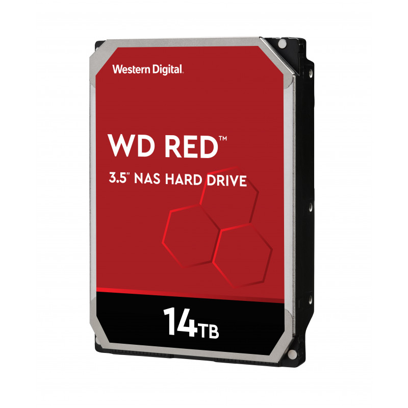 WD trdi disk 14TB SATA3, 6Gb/s, 5400, 512MB RED