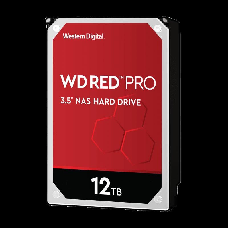 WD trdi disk 12TB SATA3, 6Gb/s, 7200, 256MB RED PRO