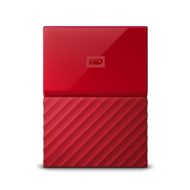 WD My Passport 4TB USB 3.0, rdeč
