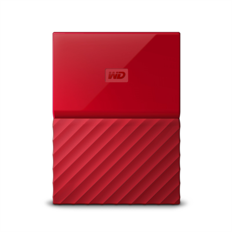 WD My Passport 1TB USB 3.0, rdeč