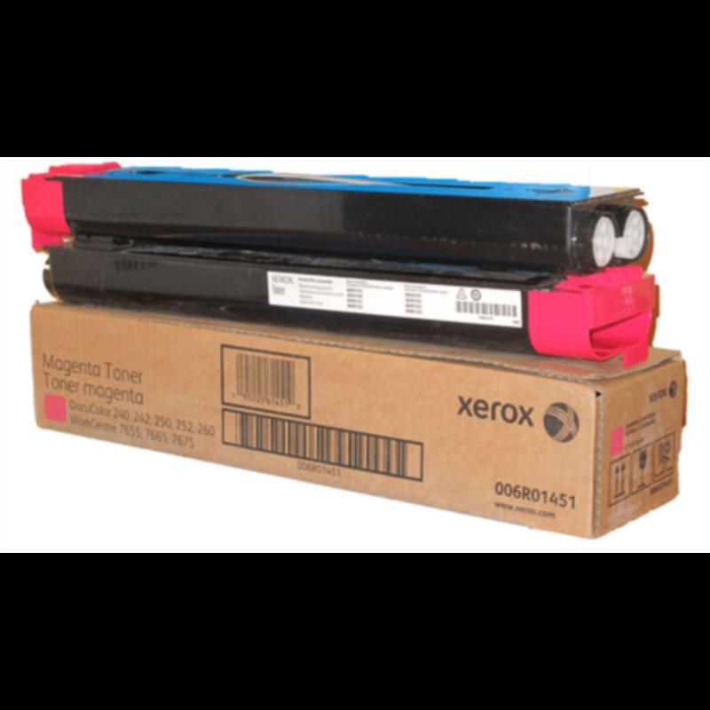 Xerox Magenta Toner DC 250/40 in WC 7655/7665/7675, 2 x 30.000 kopij