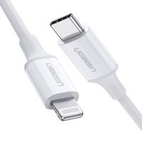 Ugreen USB-C na Lightning kabel srebrn 1m