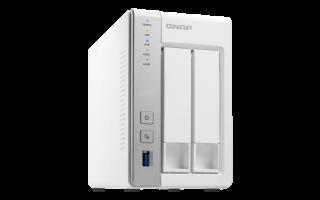 QNAP TS-231P2-1G NAS strežnik za 2 diska