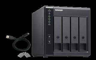 QNAP USB razširitvena enota TR-004