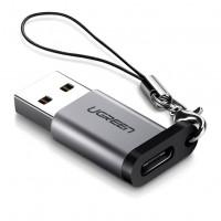 Ugreen USB 3.0-A na USB-C adapter siv