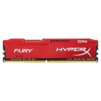Kingston HyperX Fury Red 8GB 2666MHz DDR4 CL16