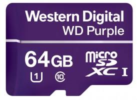 WD 64GB Purple microSD kartica
