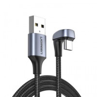 UGREEN USB-A 2.0 na USB-C kotni kabel 1m