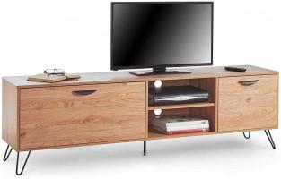 VonHaus Capri večja TV omarica, hrast