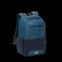 "RivaCase nahrbtnik za prenosnike 15.6"" 7767 Steel Blue/Aquamarine"