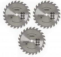 VonHaus E-Series komplet rezervnih rezil za krožno žago, 3 delni