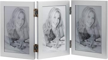 VonHaus foto okvir za 3 slike 10x15cm siv