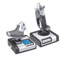 Joystick Logitech G Saitek X52 FLIGHT Control System