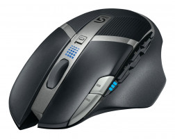 Logitech miška G602 Wireless Gaming, črna