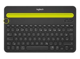 Tipkovnica Logitech Cordless K480 Wireless Bluetooth SLO gravura črna (pametni telefon, tablica)