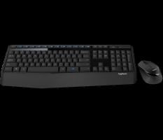 Tipkovnica +MIŠ Logitech Brezžična Desktop MK345 Combo, SLO gravura