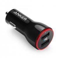 Anker PowerDrive 2 24W 2 portni avto polnilec