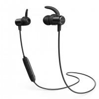 Anker slušalke SoundBuds Slim 4.1, IPX5 črne