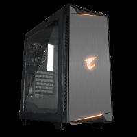 Gigabyte AC300W LITE ATX AORUS RGB osvetljeno ohišje, črno