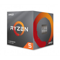 AMD Ryzen 5 3600X procesor z Wraith Spire hladilnikom