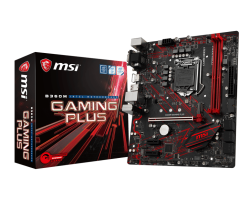 MSI B360M GAMING PLUS, DDR4, SATA3, USB3.1Gen1, HDMI, LGA1151 mATX