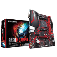 GIGABYTE B450M GAMING, DDR4, SATA3, USB3.1Gen1, HDMI, AM4 mATX