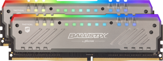 Crucial Ballistix Tactical Tracer RGB 16GB Kit (2x8GB) DDR4-3200 UDIMM PC4-25600 CL16, 1.35V