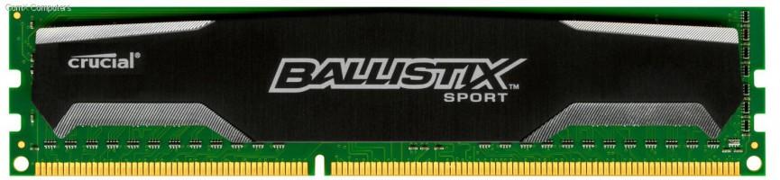 Ballistix Sport 8GB DDR3-1600 UDIMM