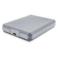 LaCie 4TB Mobile Drive, zunanji disk USB-C siv