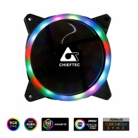 Chieftec RGB RAINBOW ventilator 120mm