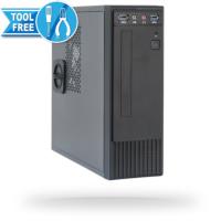 Chieftec FI-03B mini ITX 250W USB3 ohišje, črno