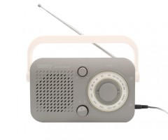 Camry prenosni radio siv